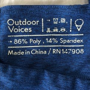 Outdoor Voices Pants - Outdoor Voices - Y'all Leggings